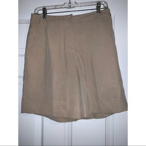 ❤️ Sport Haley Khaki Golf Shorts Size 8